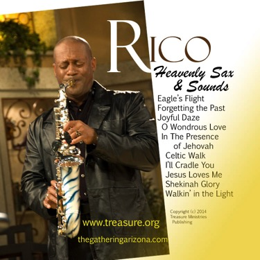 Rico Sax Album - CD Cover